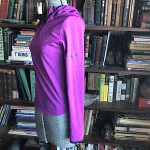 Nike Pro Dri-fit girls running hoodie Sz L